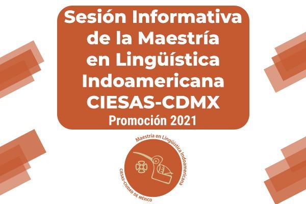 Banner sesión informativa maestría lingüística