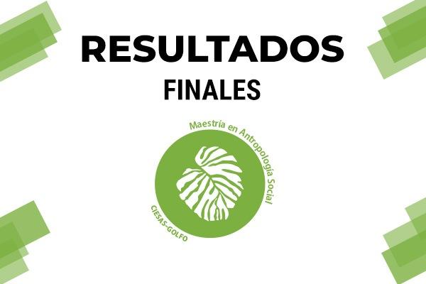 Resultados Finales Maestría Golfo 2021