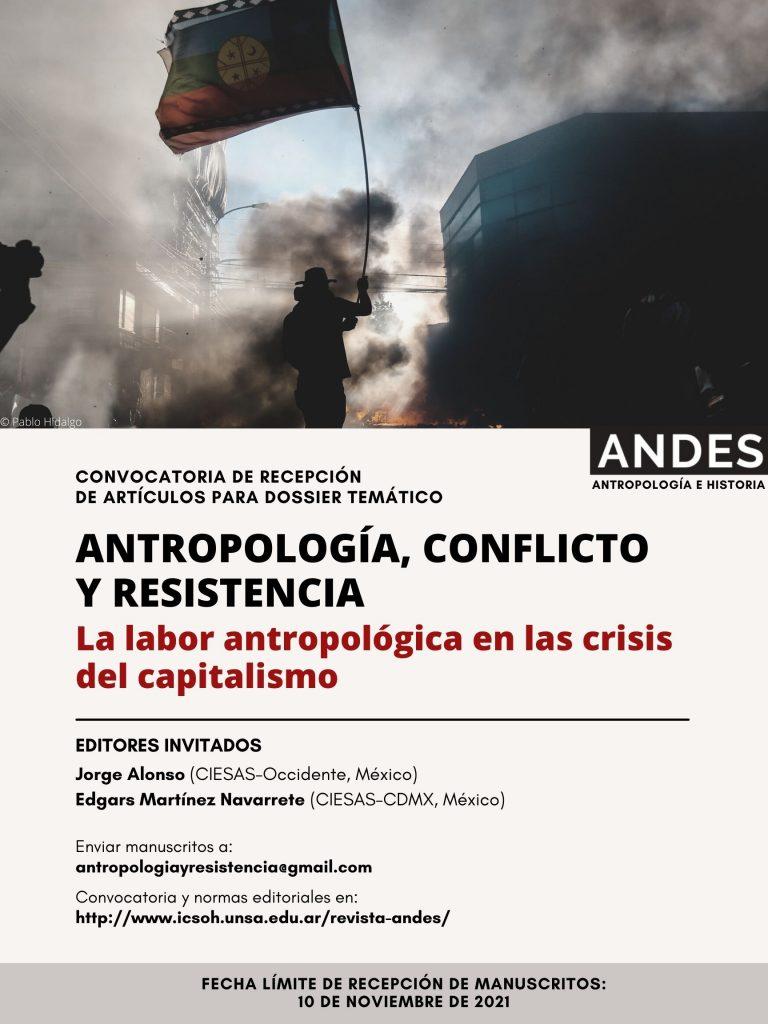 Convocatoria Dossier Andes Antropología e Historia